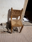 Chair and Cat. Marrakesh, Morocco