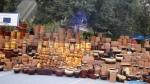 Street Pottery Sale. San Miguel De Allende, Mexico