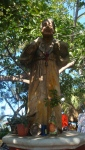 Street Sculpture of St Francis. Mexico