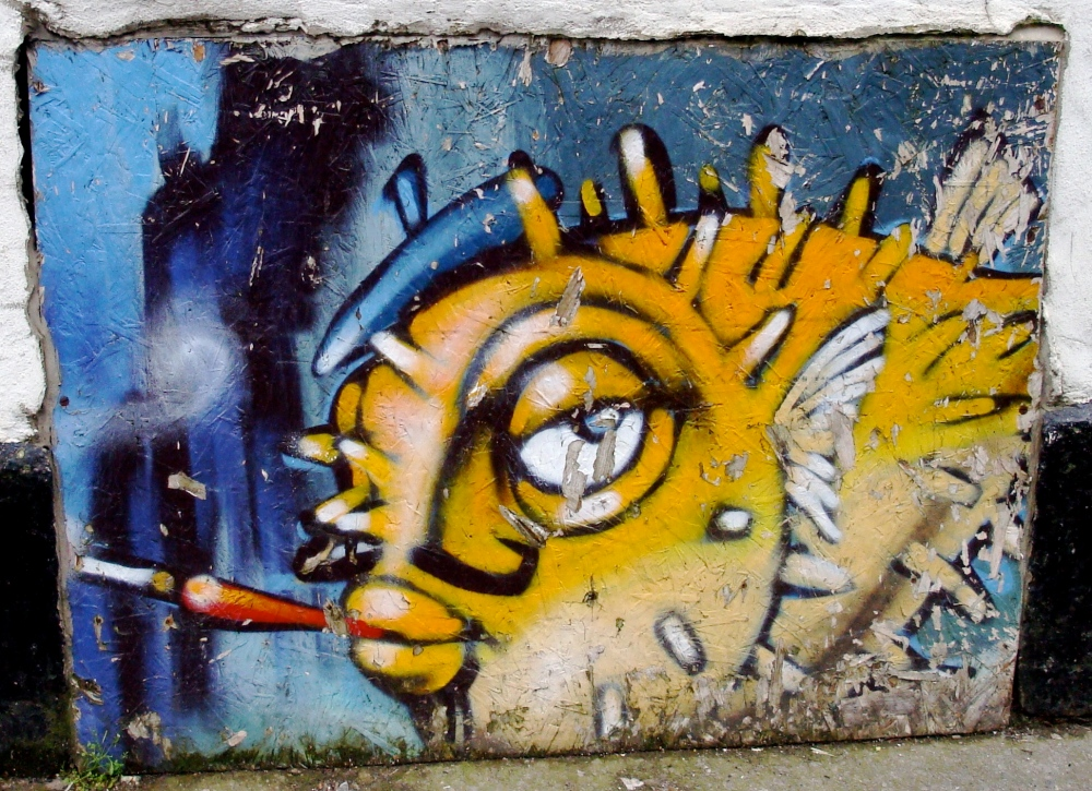 Fish wall - Bristol, England