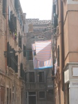 Laundry Art. Rome, Italy