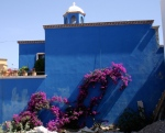 Blue Wall - San Miguel, Mexico. Photo
