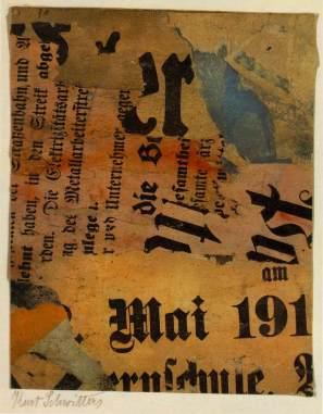 "Mai. 1919. Collage. 8.5"" x 6.75"""