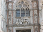 Facade carvings - St Mark's Cathedral - Venice, Italy