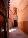 Door in Alley - Marrakesh, Morocco