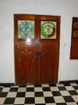 Carved Doors with Glass Design - Merida