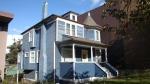 Vintage Blue House. Vancouver, Canada