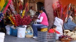 Mother and Child at Street Market. San Miguel De Allende, Mexico