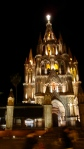 La Parroquia. Parish Church of San Miguel De Allende. Mexico
