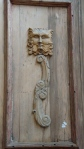 Door with Carved Face - San Miguel De Allende
