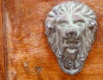 Door with Lion Face - San Miguel De Allende