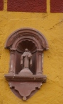 Wall with Niche Icon - San Miguel De Allende, Mexico