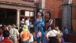 Costumed Street 'Puppets'. San Miguel De Allende, Mexico