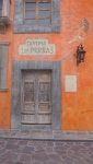 Cantina Door  - San Miguel De Allende