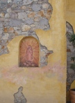 Wall with Niche Painting, Virgin of Guadalupe - San Miguel De Allende, Mexico