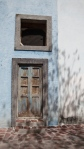 Door with Shadows - San Miguel De Allende