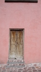 Door in Pink Wall - San Miguel De Allende