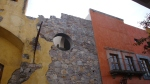 Wall with circle hole - San Miguel De Allende, Mexico