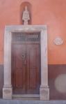 Door with Niche Statue - San Miguel De Allende