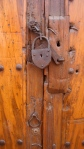 Door with Old Padlock - San Miguel De Allende