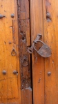 Door with Old Padlock 2 - San Miguel De Allende