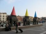 Elephant Sculptures - Venice, Italy