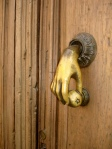 Door with Hand Knocker - San Miguel De Allende