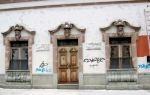 3 Doors with Graffiti - Oaxaca