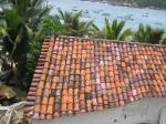 Roof Tiling. Coastal Oaxaca, Mexico