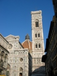 Duomo and Giotto's Campanile. Florence, Italy