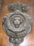 Baroque Lion Knocker - Rome