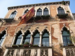 Canal Side Building with Eastern influences. Venice, Italy