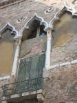 Canal Side Wall. Venice, Italy