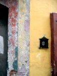 Weathered Door Jamb - Oaxaca