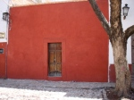 Door in Red Wall - San Miguel De Allende
