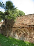 Ancient brick wall - Ostia, Italy