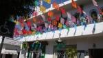 Street Festival Flags. Puerto Vallerta
