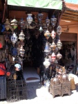 Street Lamp Store. Marrakesh