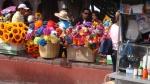 Street Market Colours. San Miguel De Allende