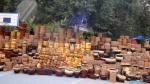 Street Pottery Sale. San Miguel De Allende