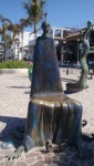 Street Sculpture. Puerto Vallerta