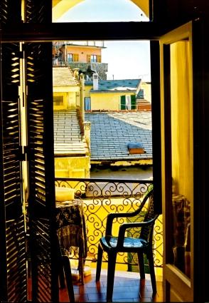 Cinque Terra window.
