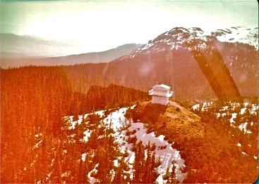 Fire Lookout from helicopter.