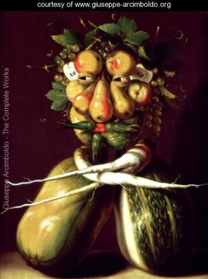 Whimsical Portrait by Arcimboldi