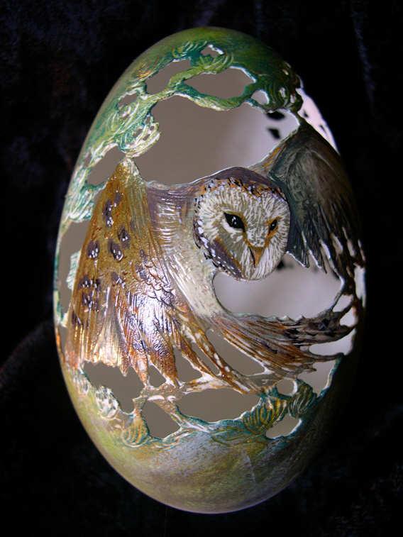 Owl Egg. C. Assante