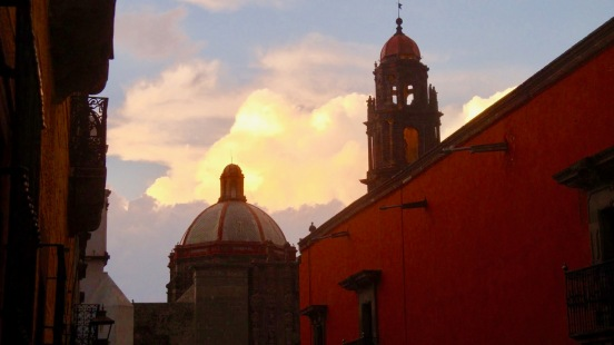 sma domes and sunset