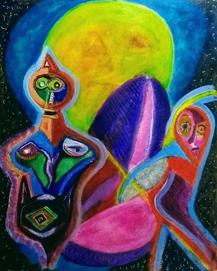 Full Moon over Chapala